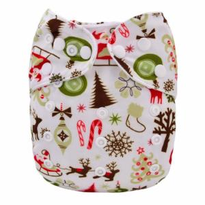Modern Cloth Nappy - Festive Joy