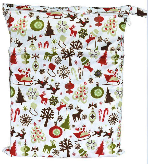 Waterproof Wet Bag - Festive Joy