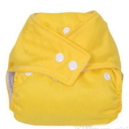 Modern Cloth Nappy - Yellow