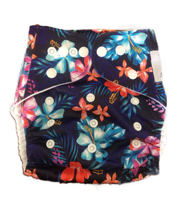 Modern Cloth Nappy - Luau