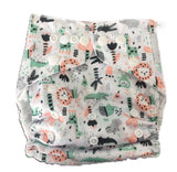 Modern Cloth Nappy - Jungle Animals
