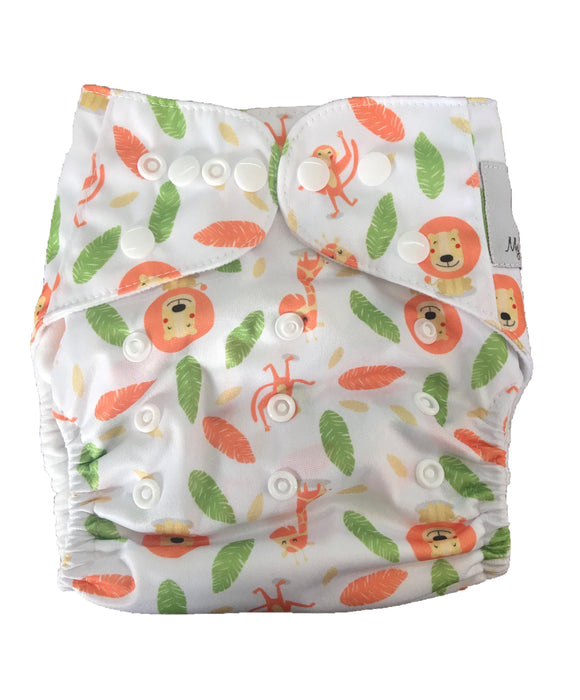 Modern Cloth Nappy - Baby Animals