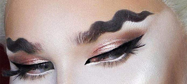 wavy brows trend