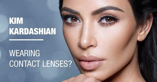 KIM KARDASHIAN WEARING COLOR CONTACTS (WE REVEAL ALL)