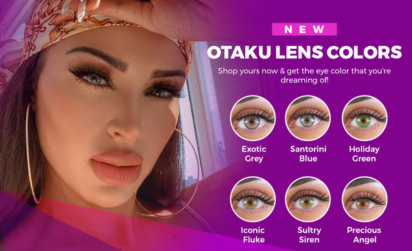 NEW OTAKU LENS COLORS