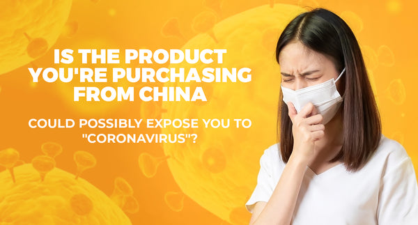 IS THE PRODUCT YOU BUY ONLINE AFFECTED WITH CORONAVIRUS?