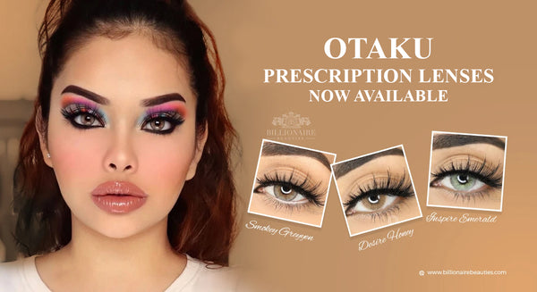 OTAKU PRESCRIPTION LENSES NOW AVAILABLE
