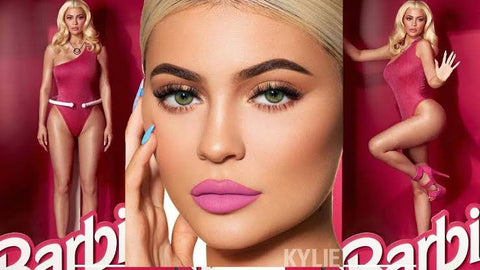 kylie jenner barbie green eyes