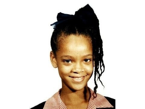 What Is Rihanna S Real Eye Color Does She Wear Coloured