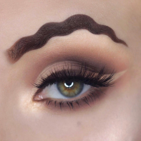 Is Wavy Brows A New Trend Solotica Amp Otakulens By