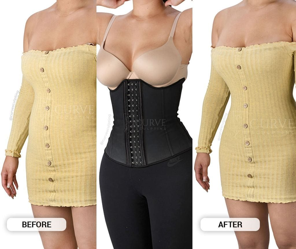 THE REVOLUTIONARY CURVESCULPTING WAIST TRAINER