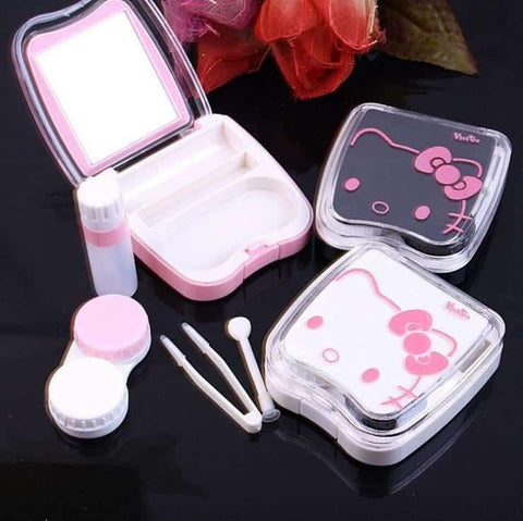 NEW (limited edition) *Hello Kitty Case + tweezer+applicator