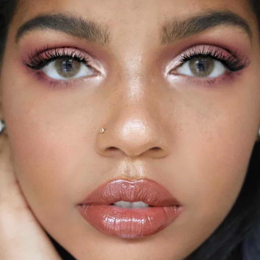 Natural Brown Colored Contacts