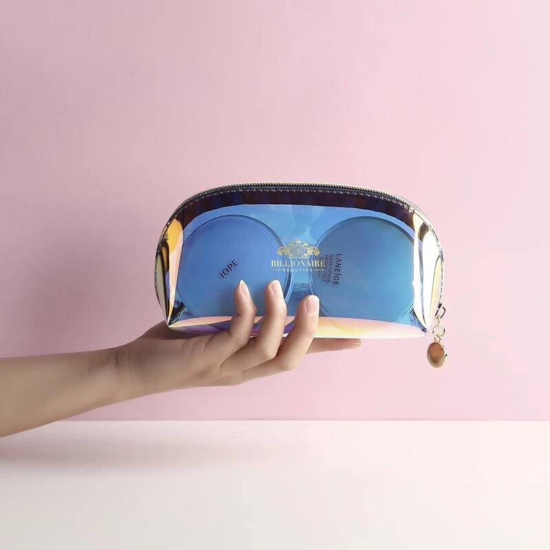 HOLOGRAPHIC MAKE UP BAG (ECO FRIENDLY)