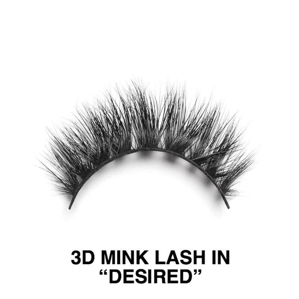 3D Mink Lashes by Diamond Japney