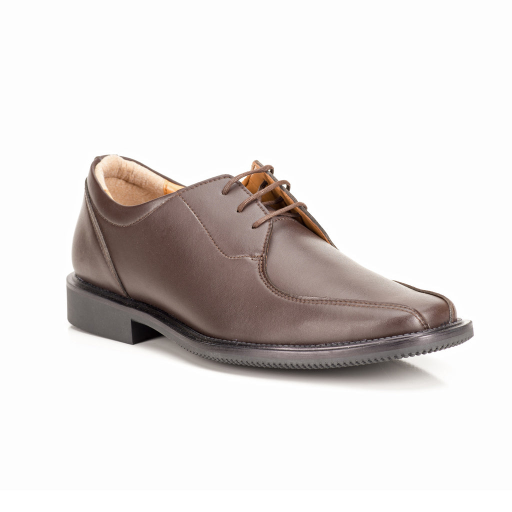 Sole & Stone|Brown Vegan Oxford|Vegan Shoes|Side3