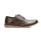 Sole & Stone - Brown Vegan Oxfords Vegan Shoes - Side1