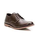 Sole & Stone - Brown Vegan Oxfords Vegan Shoes - Side3
