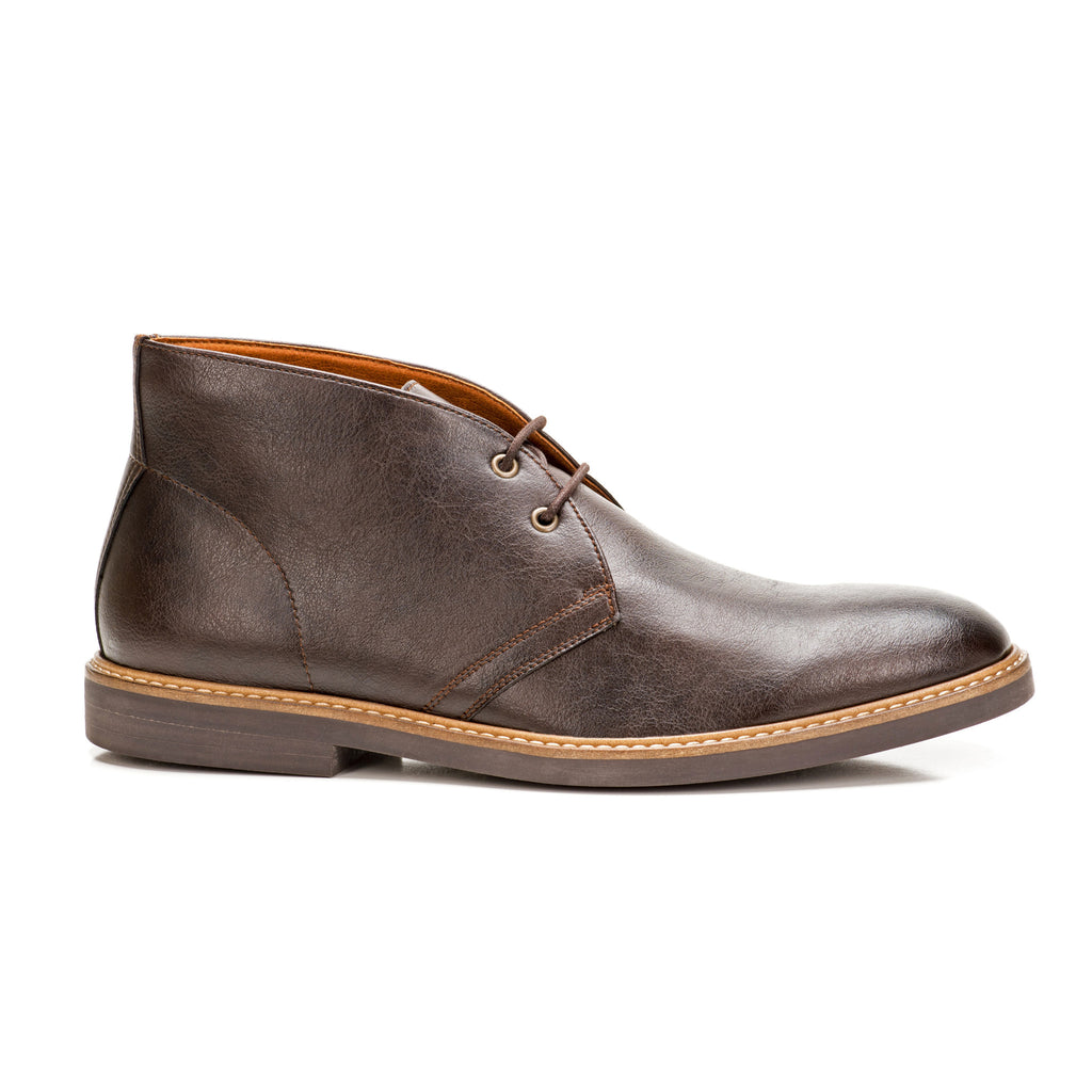 Sole & Stone|Vegan Chukka Boots|Vegan Shoes|Side1