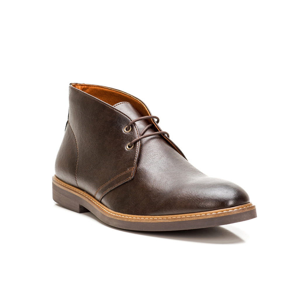 Sole & Stone|Vegan Chukka Boots|Vegan Shoes|Side3