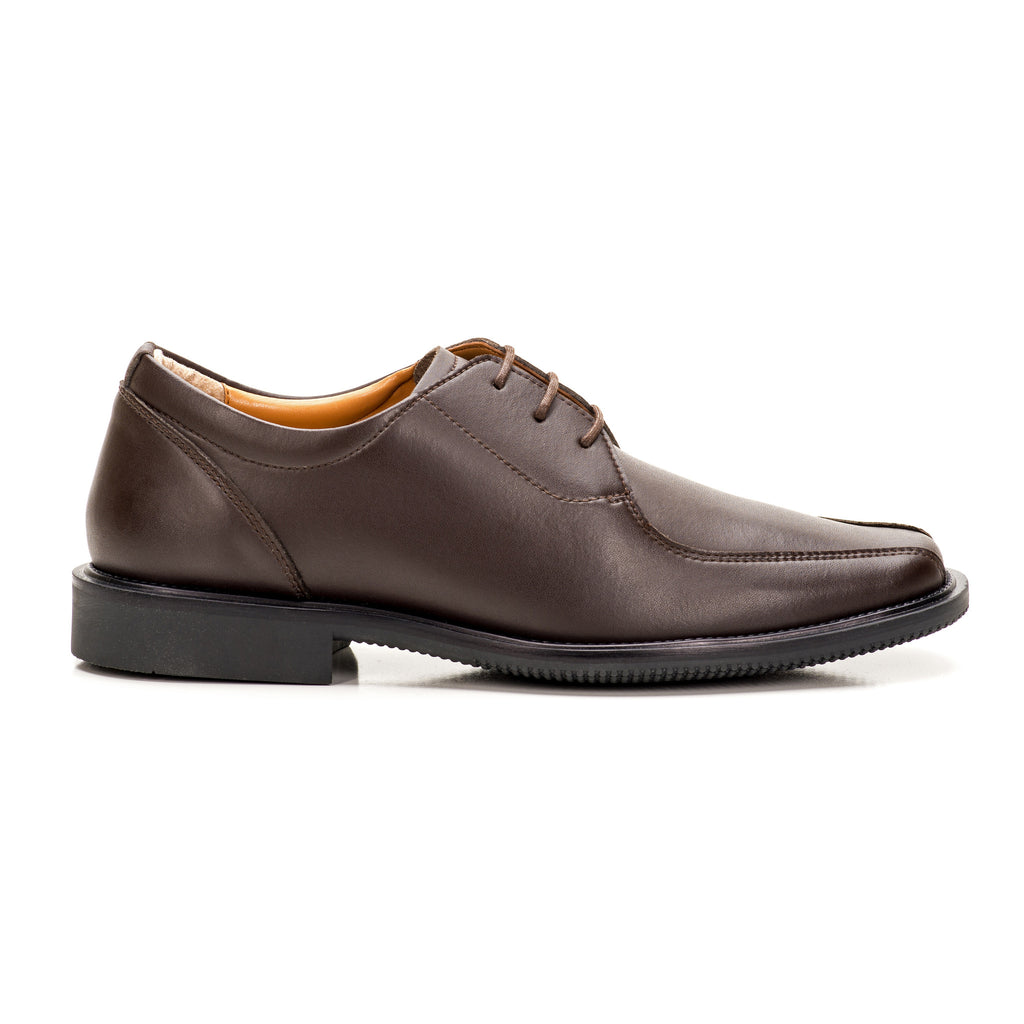Sole & Stone|Brown Vegan Oxford|Vegan Shoes|Side1