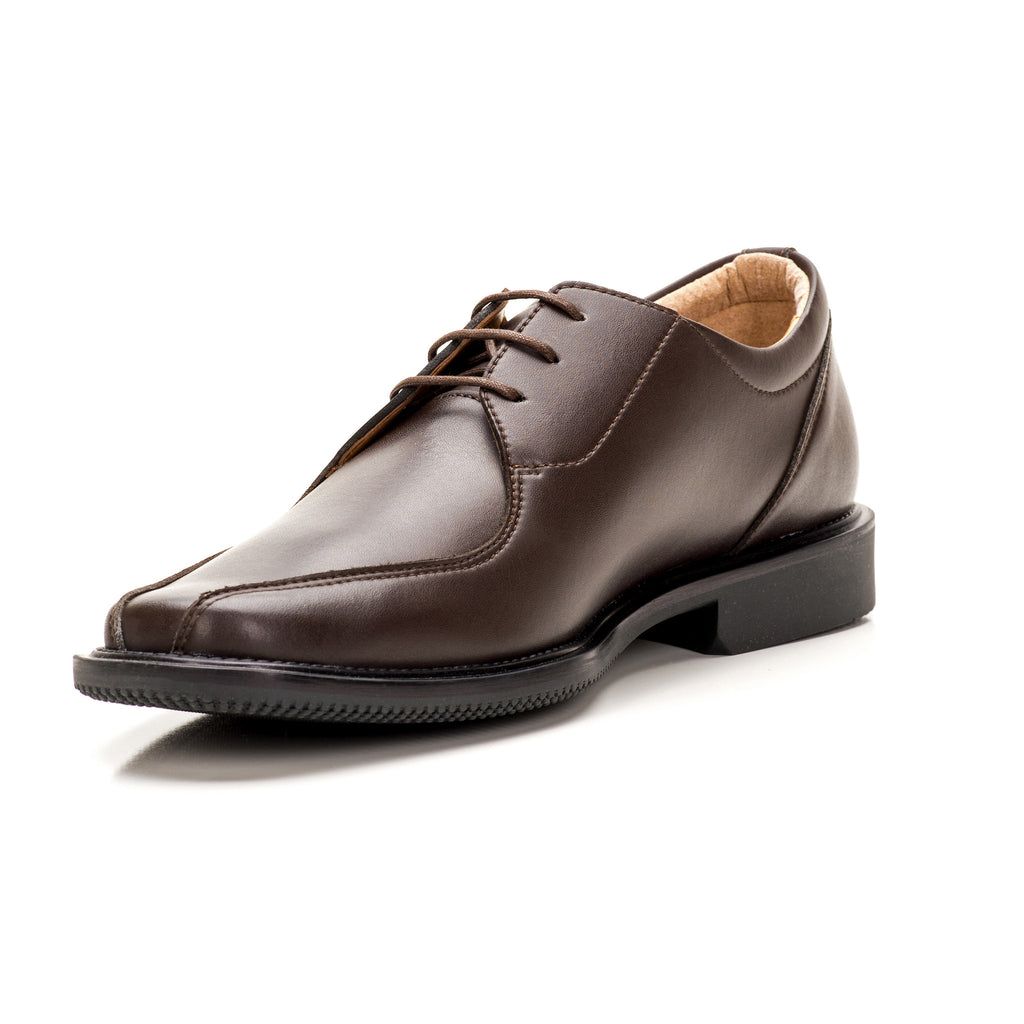 Sole & Stone|Brown Vegan Oxford|Vegan Shoes|Side4