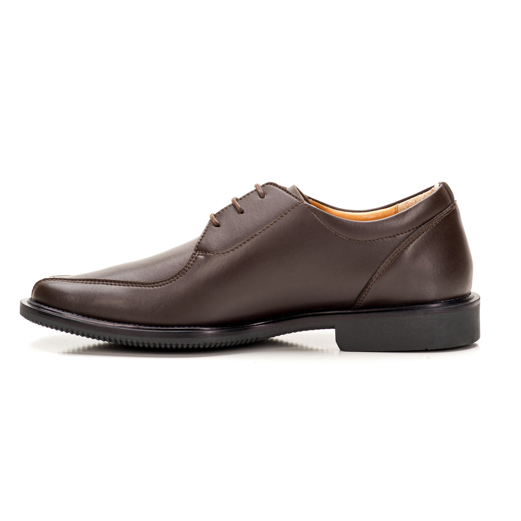 Sole & Stone|Brown Vegan Oxford|Vegan Shoes|Side2