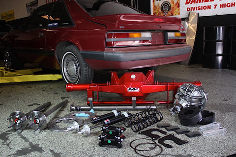 Moser Superfox 9 Rearend Package Video Feature Foxbody Mustang 1