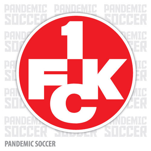 1. FC Kaiserslautern Germany Vinyl Sticker Decal - Pandemic Soccer
