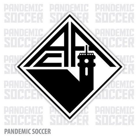 Academica Coimbra Portugal Vinyl Sticker Decal - Pandemic Soccer