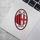 AC Milan Italy Vinyl Sticker Decal Pack - 10 Stickers - Pandemic Soccer