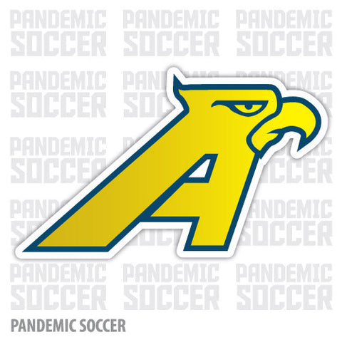 Aguilas America Retro Mexico Vinyl Sticker Decal Calcomania - Pandemic Soccer
