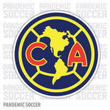 Aguilas America Mexico Vinyl Sticker Decal Calcomania - Pandemic Soccer