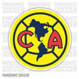 Club America Mexico Vinyl Sticker Decal Calcomania - Pandemic Soccer