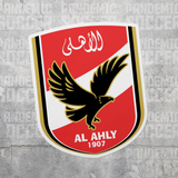 Al Ahly Cairo Egypt Color Vinyl Sticker Decal Soccer - Pandemic Soccer