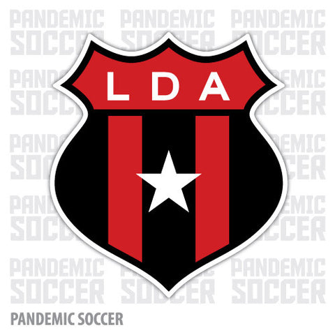 Liga Alajuelense LDA Costa Riva Vinyl Sticker Decal Calcomania - Pandemic Soccer