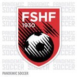Albania National Team Vinyl Sticker Decal - Pandemic Soccer