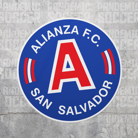 Alianza FC El Salvador Vinyl Sticker Decal Calcomania - Pandemic Soccer
