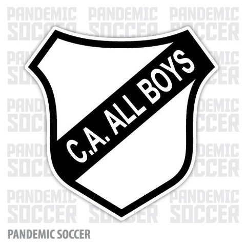All Boys Argentina Vinyl Sticker Decal Calcomania - Pandemic Soccer