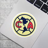 Club America Mexico Vinyl Sticker Decal Pack - 10 Stickers - Pandemic Soccer