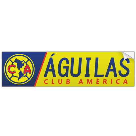 Club America Aguilas Mexico Bumper Sticker Decal Calcomonia - Pandemic Soccer