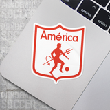 America de Cali Colombia Vinyl Sticker Decal Calcomania - Pandemic Soccer