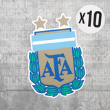 Seleccion Argentina Vinyl Sticker Decal Pack - 10 Stickers - Pandemic Soccer