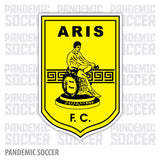 Aris Thessaloniki FC Greece Vinyl Sticker Decal - Pandemic Soccer