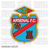 Arsenal Sarandi Argentina Vinyl Sticker Decal Calcomania - Pandemic Soccer