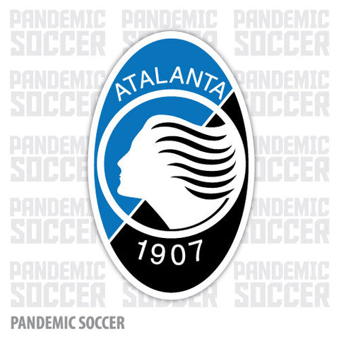 Atalanta Calcio Italy Vinyl Sticker Decal - Pandemic Soccer