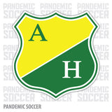 Atletico Huila Bogota Colombia Vinyl Sticker Decal Calcomania - Pandemic Soccer