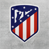 Atletico Madrid Spain La Liga Vinyl Sticker Decal - Pandemic Soccer