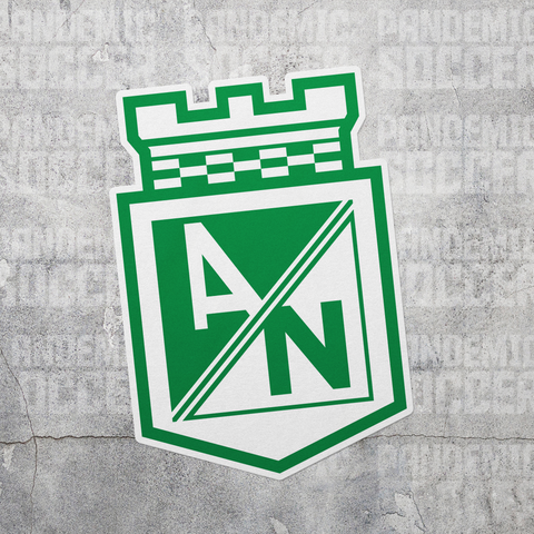 Atletico Nacional Medellin Colombia Vinyl Sticker Decal Calcomania - Pandemic Soccer