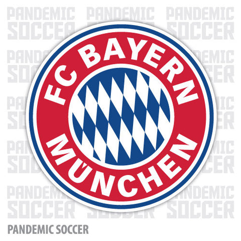 Bayern Munich Germany Vinyl Sticker Decal - Pandemic Soccer